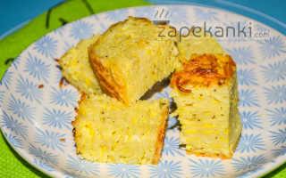 Запеканка из макарон с молоком и яйцом
