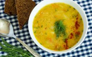 Как вкусно приготовить постный гороховый суп