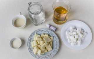 Пошаговое приготовление цветной помадки с желатином для кулича
