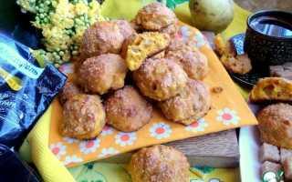 Как приготовить постное тыквенное печенье