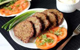 Как готовить печеночные котлеты из говяжьей печени