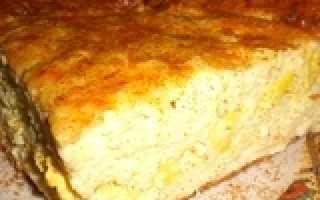 Завтрак из творожного сыра