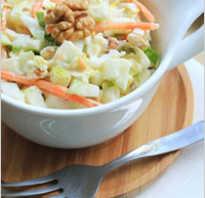 Рецепты постных салатов для повседневного праздничного и поминального стола