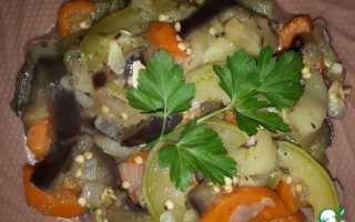 Как вкусно потушить овощи рецепт с фото