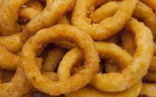 Из чего делаются луковые кольца