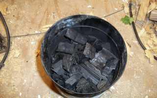 Как делают древесный уголь для шашлыка