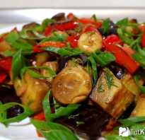 Как приготовить баклажаны с грибами рецепты