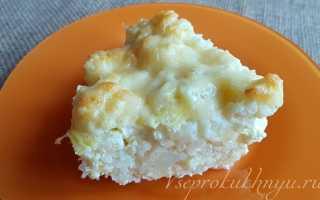 Замороженная цветная капуста с сыром в духовке