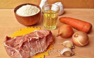 Рисовая каша с говядиной в сковороде. Каша рисовая с мясом рецепт. Рисовая каша с мясом: рецепт с фото