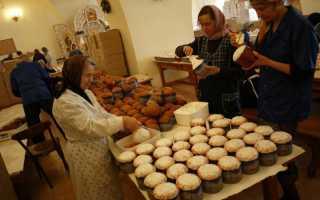 Православным хозяйкам знаменитые монастырские рецепты пасхальных куличей