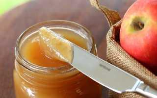 Как из яблок сделать повидло рецепт