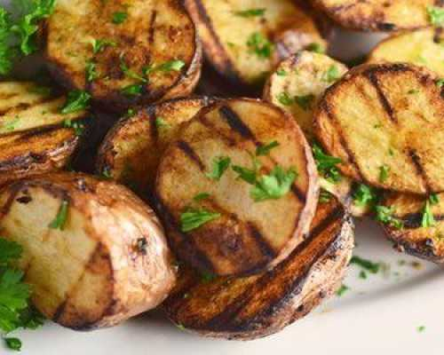Как мариновать картошку для мангала
