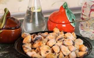Как вкусно приготовить мидии очищенные замороженные рецепт