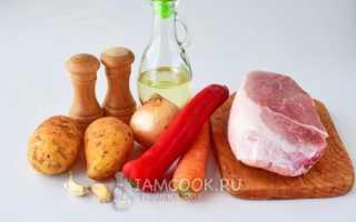 Как готовить соус из мяса и картошки