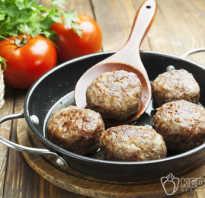 Как правильно приготовить котлеты из мяса