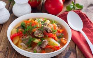 Как готовить хашламу из говядины с картошкой