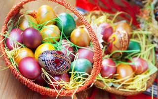 Как красиво раскрасить яйца акриловыми красками