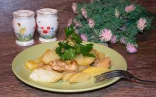 Индейка в рукаве для запекания с картошкой