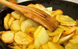 Как пожарить картошку чтобы она не разваливалась
