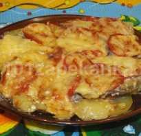 Запеканка из говядины с картофелем и сыром