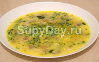 Как готовить грибной суп с сыром