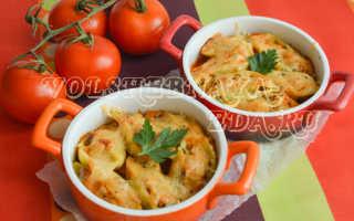 Как нафаршировать макароны ракушки фаршем рецепт