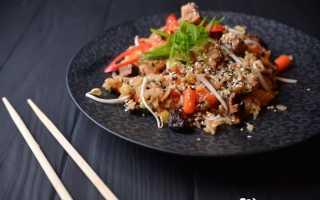 Как обжарить рис после варки