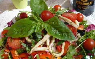 Салат из кальмаров рецепт для поста