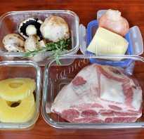 Запечь свинину рулет в духовке с грибами