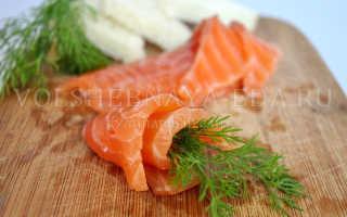 Как засолить красную рыбу дома рецепт