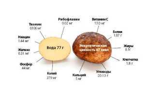 Запеченная картошка для похудения