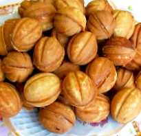 Как печь орешки рецепт