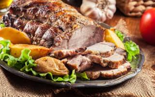 Как запекать свинину в духовке в фольге