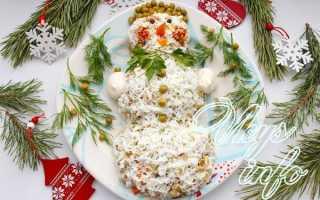 Рецепты салатов оливье с кальмарами. Оливье с кальмарами. Как приготовить оливье с кальмарами «Снеговик»