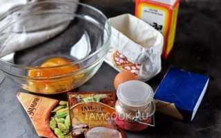 Имбирно медовое печенье рецепт