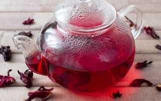Чай каркаде: понижает или повышает давление