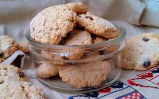 Как испечь овсяное печенье рецепт