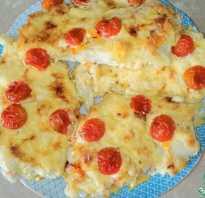 Как запечь треску в духовке с сыром