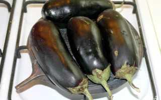 Икра из баклажанов запеченных в духовке рецепт