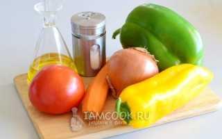 Зажарка для супа рецепт