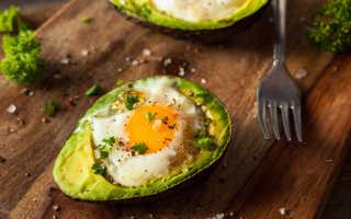 Завтрак с авокадо рецепты с фото