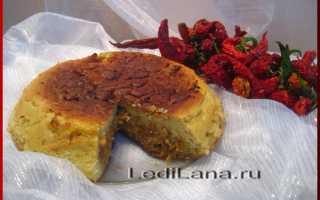 Заливной пирог с капустой и рыбой рецепт
