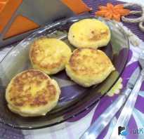 Как правильно жарить сырники на сковороде