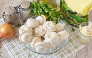 Запеченные пельмени в духовке с сыром рецепт