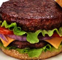 Как правильно сделать котлету для бургера