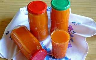Как закрыть морковный сок на зиму