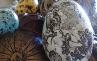 Обязательно ли нужен шелк чтобы покрасить яйца