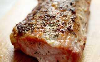 Запечь свиную шею в духовке фото рецепт