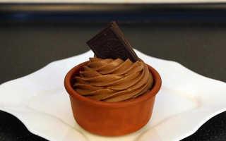 Заварной крем с шоколадом рецепт с фото