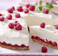 Йогуртовый торт для детей